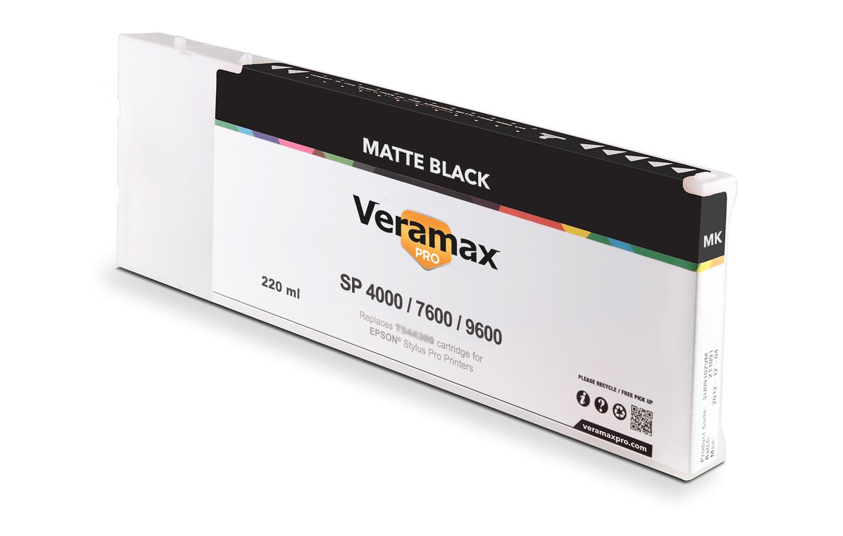 Veramax PRO SP 4000/7600/9600 220ml Matte Black