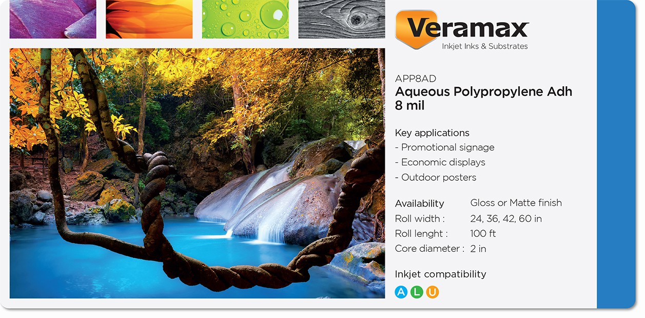 Veramax Aqueous Polypropylene Adhesive 8mil