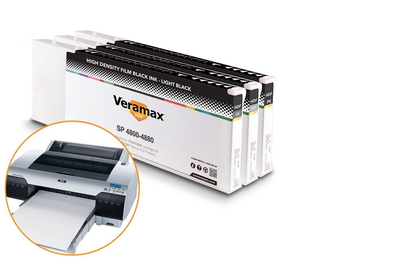 Veramax HDF Ink Cartridges for Stylus Pro 4880 Printers