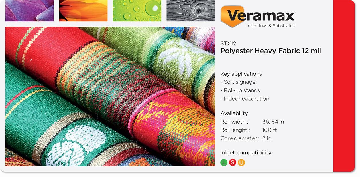 Veramax Polyester Heavy Fabric 12mil