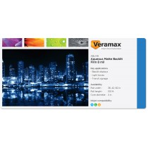 Veramax Aqueous Backlit Matte Film 8mil