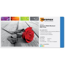 Veramax Aqueous Blockout Matte Film 11mil