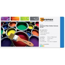 Veramax Aqueous Canvas Poly-Cotton 21mil