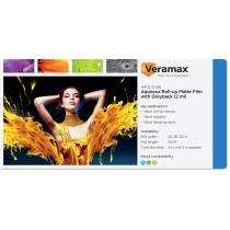 Veramax Aqueous Rollup Film Greyback 12mil