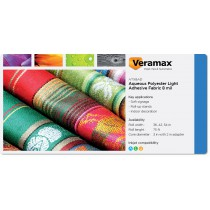 Veramax Aqueous Polyester Light Fabric Adh 8mil