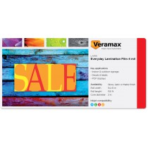 Veramax Everyday Laminating Film 4mil