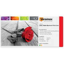 Veramax Blockout Dual-Sided Matte Film 9mil