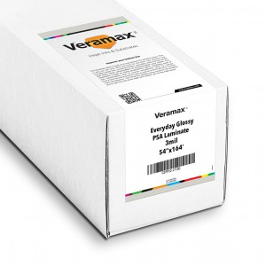 Veramax Everyday Glossy Laminating Film 3mil 54in x 164ft