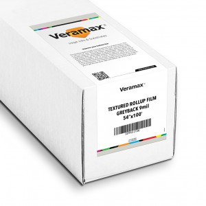 Veramax Rollup Textured Film Greyback 9mil 54in x 100ft