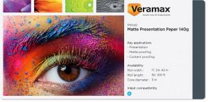 Veramax Matte Presentation Paper 140g
