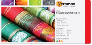 Veramax Polyester Light Fabric 8mil
