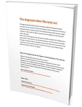 Magnuson Moss Warranty