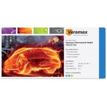 Veramax Aqueous Vinyl Matte Permanent Adh 6mil