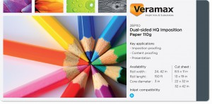 Veramax Dual-sided HQ Matte Paper 110g