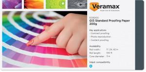 Veramax G13 Std SM Proofing Paper 200g
