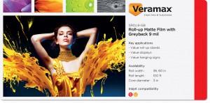 Veramax Rollup Film Greyback 9mil